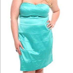 NWT Torrid Mint Bandage Tube Dress